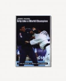DVD Jimmy Pedro Grip like a world champion, de dvd over kami-kata (het pakkinggevecht)
