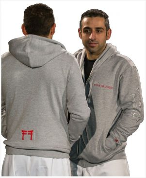 Hoodie heather gray