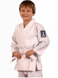 Hajime judopak boys, sterk en comfortabel kinderjudopak van internationaal topmerk Fighting Films