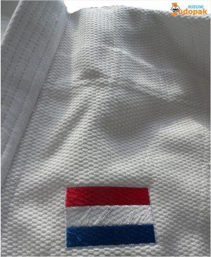 vlag borduren op judojas