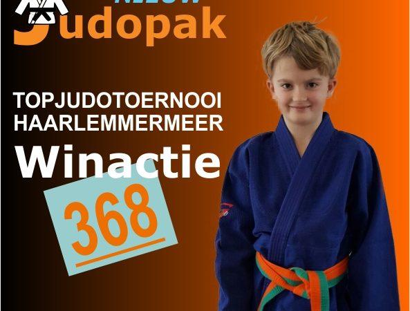 Mees wint judopak op Topjudotoernooi Haarlemmermeer