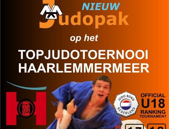 Bezoek Nieuwjudopak op het Topjudotoernooi Haarlemmermeer