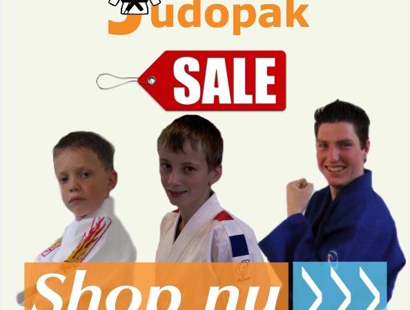 Sale op judopakken en meer!