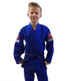 Lion 550 Talent Gi blauw judopak semi-wedstrijd