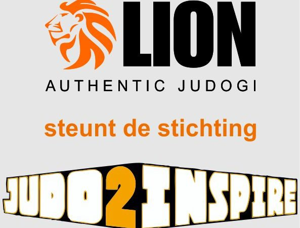 Lion judogi en Nieuw Judopak steunen Judo2Inspire