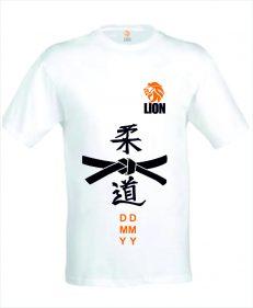 Judo T-shirt Geslaagd voor zwarte band