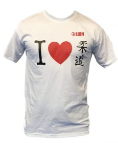 Lion Judo T-shirt I Love Judo