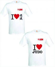 Judo T-shirt I Love Judo (Japans en newyork)