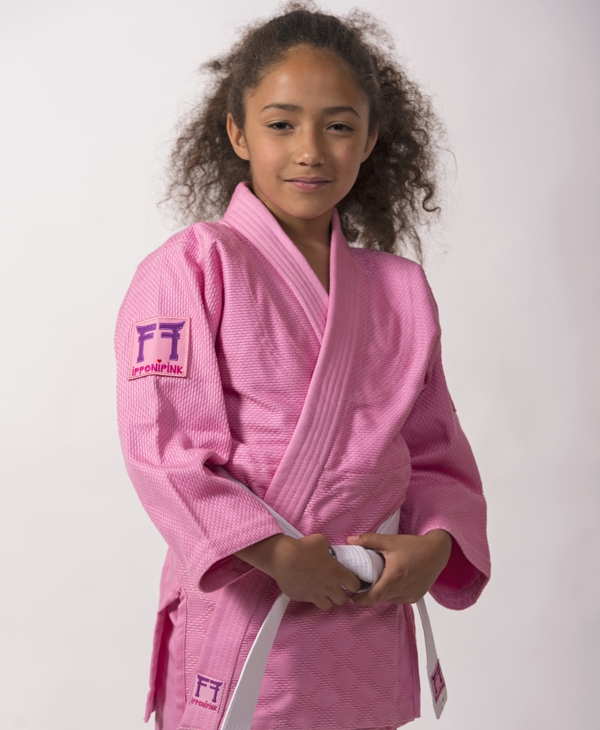 roze judopak Ipponi Pink van Fighting Films