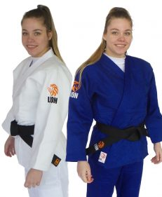 Lion 850 excellence judopak wit en blauw
