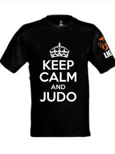 Lion Tshirt Keep Calm and Judo