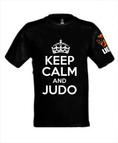 Lion Tshirt Keep Calm and Judo