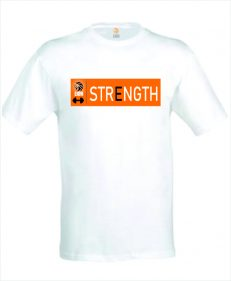 Lion T-shirt strength fitness