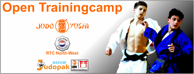 Nieuw Judopak op Open Trainingsstage Judo Yushi