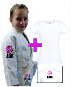 Lion Kids girls met Lion kids T-shirt