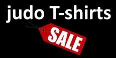 sale judo T-shirts
