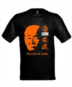 Lion T-shirt Jigoro Kano The Art of Judo