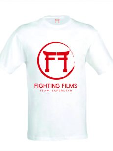 Nieuw Judopak - Fighting Films TeamSuperstar T-Shirt - heren rood