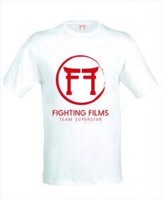 Nieuw Judopak - Fighting Films TeamSuperstar T-Shirt - heren rood
