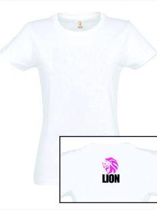 T-shirt Lion basic girls