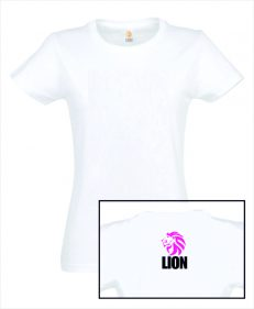 T-shirt Lion basic girls