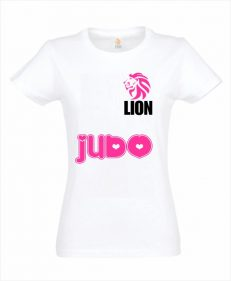 Judo T-shirt Lion judo love