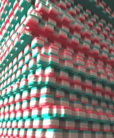 puzzelmatten TatamiX rood groen stapel
