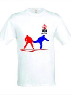 Lion T-shirt Ju-Jitsu action reaction