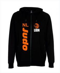 Lion Hoodie NL JUDO - zipped sport hoodie