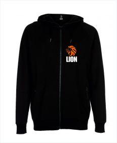 Lion Hoodie original - zipped sport hoodie