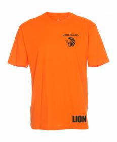 Lion T-shirt Nederland oranje