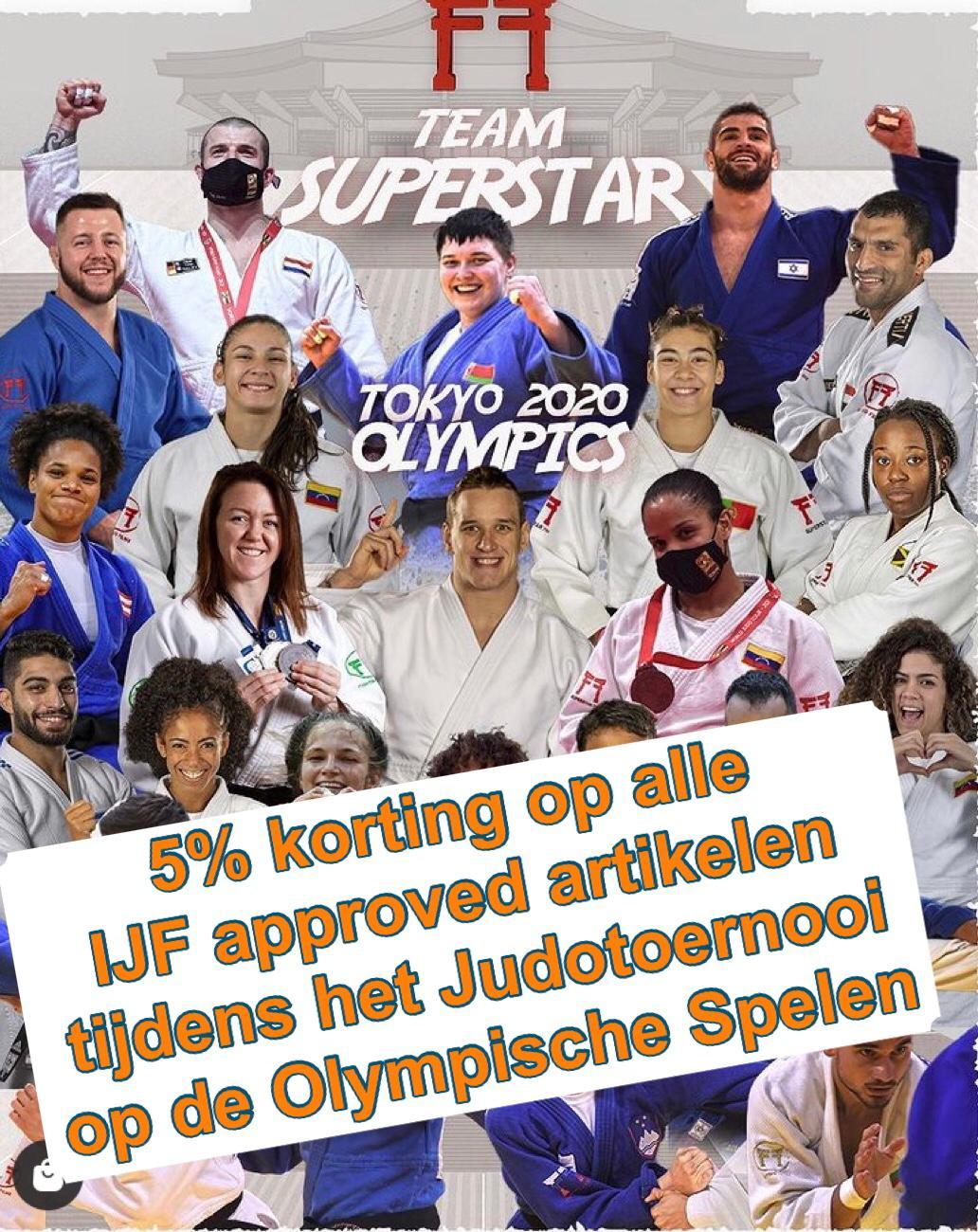 5% korting tijdens de Olympische spelen